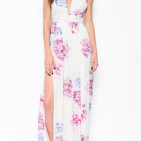 Floral Interchangeable Maxi Dress