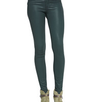 The Legging Jeans, Coated Green Gables - rag & bone/JEAN