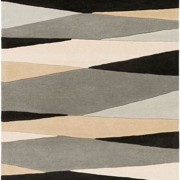 Surya Forum Modern Black FM-7205 Area Rug