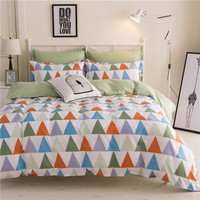 Home Textiles Bedding Sets include Duvet Cover Bed Sheet Pillowcase Queen King Twin Size Comforter Bedding Sets Bed Linen yj