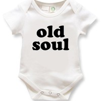 Old Soul Organic Baby Onesuit