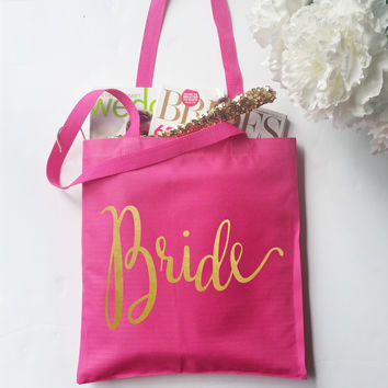Tote Bag - Bride Bridal Party