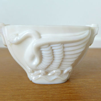 Mac Beth Evans art deco Swan Song Monax bowl, vase in perfect condition