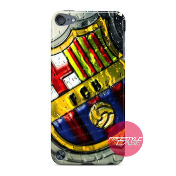 Rain Drop Bercelona FC iPod Case Cover Series