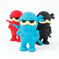 International Arrivals Ninja Erasers Erasers
