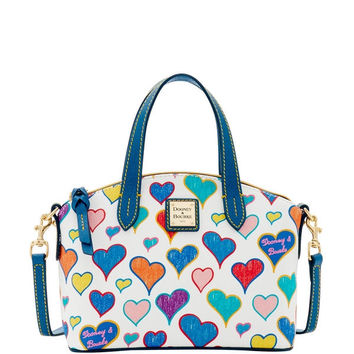 Dooney & Bourke Heart Ruby Bag (Introduced by Dooney & Bourke at $158 in Dec 2016) - White | Overstock.com Shopping - The Best Deals on Tote Bags