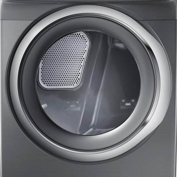 Samsung 7.5 cu. ft. Electric Dryer with Steam in Platinum-DV42H5200EP - The Home Depot