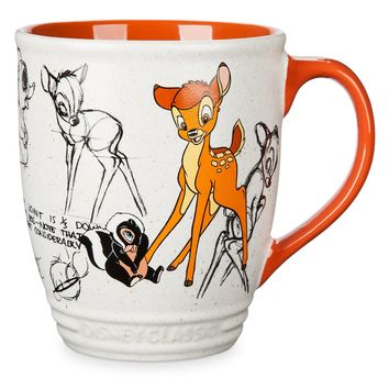 Disney Bambi and Flower Classics Collection Ceramic Coffee Mug