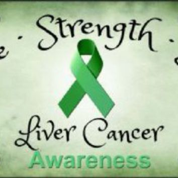 Awareness Hope Strength Love Liver Cancer Car Truck Plate Tag
