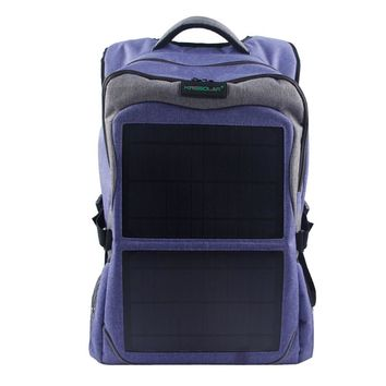 12W Solar Backpack (5V 2A ) Solar Panel Bag Pack Charge for Smart Cell Phones, Tablets, GPS, eReaders, Speakers, Gopro Cameras