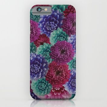 flowers pattern 2 iPhone & iPod Case by Rowans