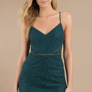 In The Night Lace Bodycon Dress