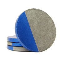 Concrete Coasters, Cement Coasters, Modern Coasters, Drink Coasters, Geometric Coasters, Unique Coasters, Stone Coasters, Blue - Set of 4