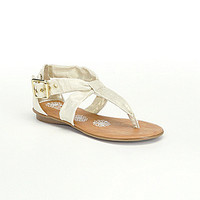 Kenneth Cole Reaction Girls' Keep Forward Sandals - Ivory