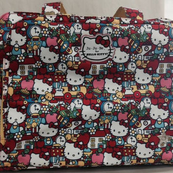 Ju Ju Be For Hello Kitty Be Prepared Baby Diaper Bag Tick Tock With Changing Pad - Bag Number : 2