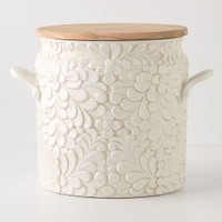 Verdant Bread Bin by Anthropologie White One Size Kitchen