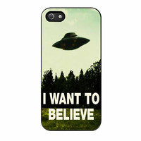 I Want To Believe Xfiles Photo iPhone 5s Case