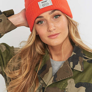 Reason Ribbed Beanie - Urban Outfitters