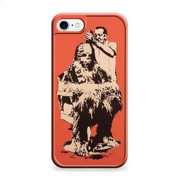 Star Wars chewbacca haircut iPhone 6 | iPhone 6S case