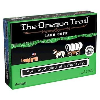 The Oregon Trail Card Game - Tabletop Haven