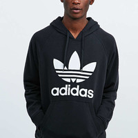 adidas Originals Trefoil Hoodie in Black - Urban Outfitters
