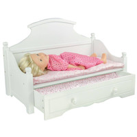 "Olivia's Little World - My Sweet Girl 18"" Doll Trundle Bed"