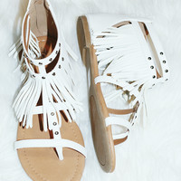 MYSTIC MOONLIGHT SANDALS IN WHITE