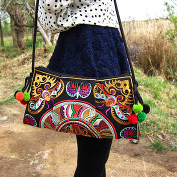 Ethnic Embroidered Handmade Shoulder Bag