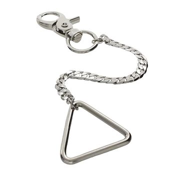 Open Triangle Pocket Charm