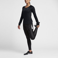 The Nike Dry Miler Women's Long Sleeve Running Top.