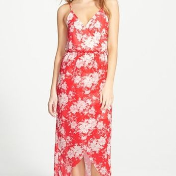 Junior Women's Lush Tulip Hem Maxi Dress,