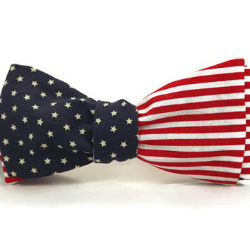 American bowtie, american flag bowtie, flag bowtie, political bowtie, election bowtie, 4th of july bowtie, independence day, mens bowtie