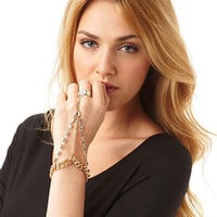 Lane Ring Chain Bracelet