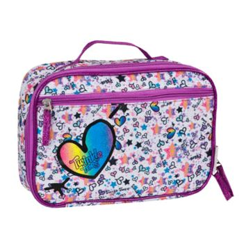 GIRLS' TWINKLE TOES: RAINBOW FOIL INSULATED LUNCH BOX
