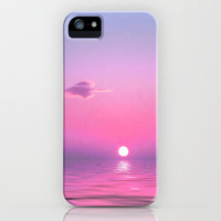 With Each Sunrise We Start Anew iPhone Case by Ally Coxon | Society6