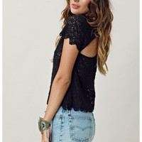 Funktional Scalloped Lace Tee