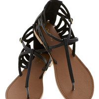 Rock 'n' Stroll Sandal in Black