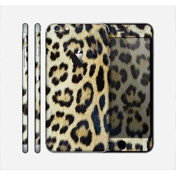 The Real Leopard Hide V3 Skin for the Apple iPhone 6 Plus