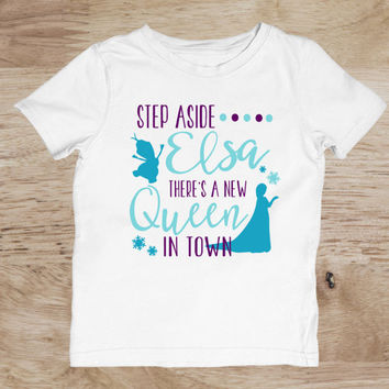 Elsa Frozen Disney Toddler Shirt Disney Princess Outfit Elsa Birthday Shirt Elsa Birthday Shirt Frozen T Shirt