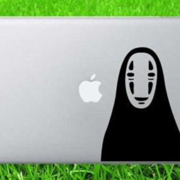 Spirited Away Mask Decal Sticker Vinyl Decorative for Wall Car Auto Ipad Macbook Laptop