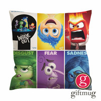 Disney Inside Out Cushion Case / Pillow Case