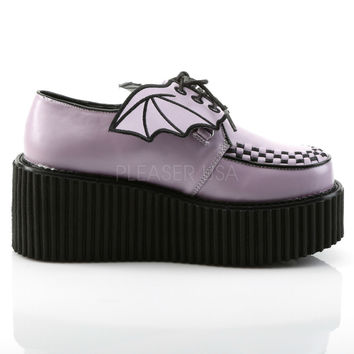 Purple Bat Wings High Gloss Creeper