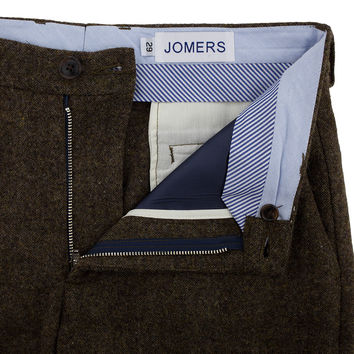 Hunters Point - Brown Donegal Flannel