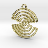 hourglass spiral by Jilub on Shapeways
