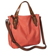 Mossimo Supply Co. Tote Handbag with Crossbody Strap - Coral
