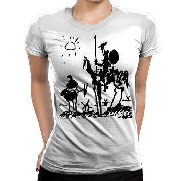 Don Quijote Womens T-Shirt