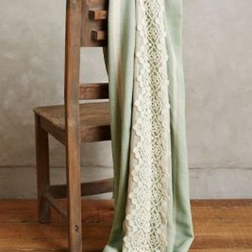 Victoriana Silk Throw by Anthropologie