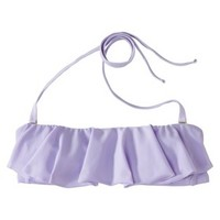 Xhilaration® Junior's Bandeau Swim Top -Lilac
