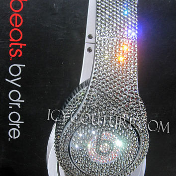 Bling Your BEATS by Dre in any Swarovski Crystal Color