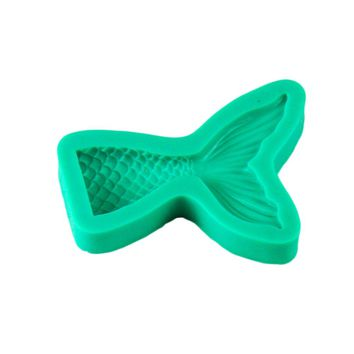 New Arrival Mermaid Tail Silicone Mold Fondant Cake Mold Cupcake Decorating Tools Kitchen Baking Gum Paste Chocolate Candy Molds